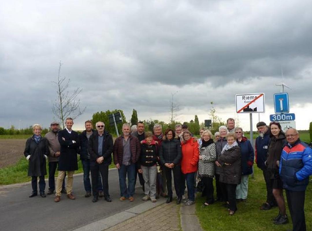 De inwoners van de Vogelwijk in Rieme
